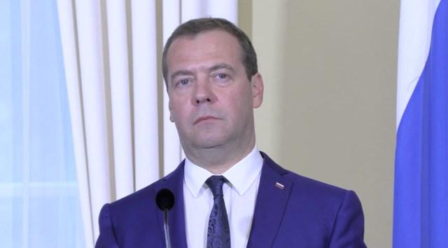 Vene peaminister Dmitri Medvedjev helistas Antti Rinnele, õnnitles ja kutsus külla