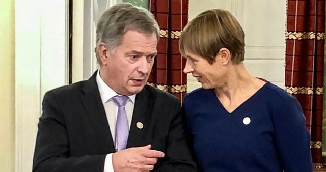 Eesti president on täna töövisiidil Soomes