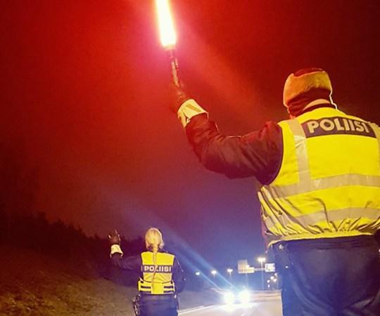 Soome politsei kontrollis puhumismaratoni käigus 30 000 juhti, raske joobega jäi vahele 25 juhti