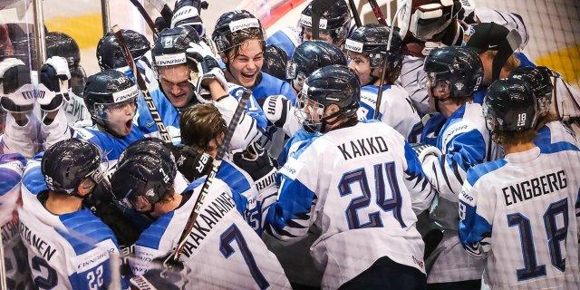 Soome noorte hokikoondis alistas Šveitsi ja jõudis finaali