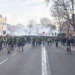 PRANTSUSE REVOLUTSIOON: Kollased vestid avaldasid meelt juba 10ndat nädalat järjest