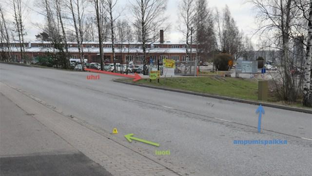 Eestlastega seotud tulistamise juhtum Soomes Vantaal on jõudnud kohtusse