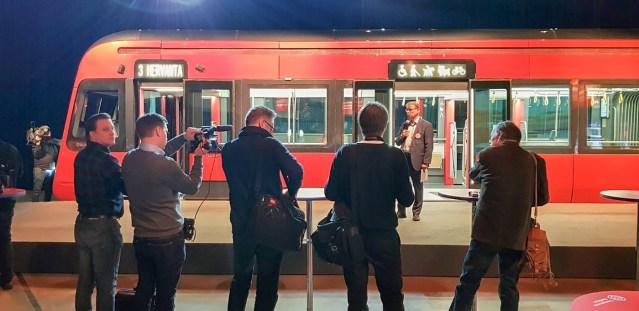 Tamperes esitleti trammi