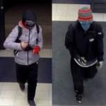 Politsei avaldas uued pildid Kuopio röövlite kohta, ootab inimeste vihjeid