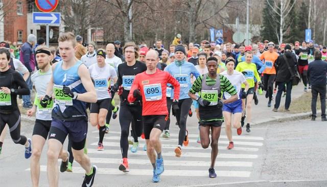 Eesti jooksja võitis Helsingi kevadmaratoni