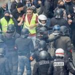 Prantslased ei jäta jonni: kollased vestid väljas juba 27. nädalat järjest