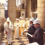 Pariisi Jumalaema kirikus peeti jumalateenistust KIIVRITES
