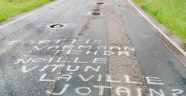 Soomlane jättis autoteele karmi sõnumi – sellest oli abi