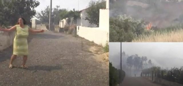 KOLE VIDEO: Inimestel majad Portugalis põlevad, tule front juba 25 km