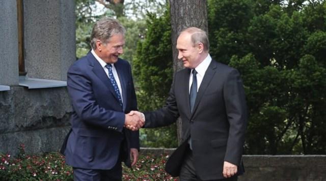 Täna saabub Soome Vene president Vladimir Putin, sellega seoses liikluspiirangud