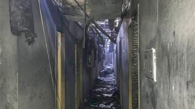Ukrainas oli suur hotellipõleng, kaheksa inimest hukkus