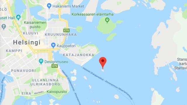 Keegi ostis Helsingi külje alt imeodavalt väikse saare, endine omanik raevus