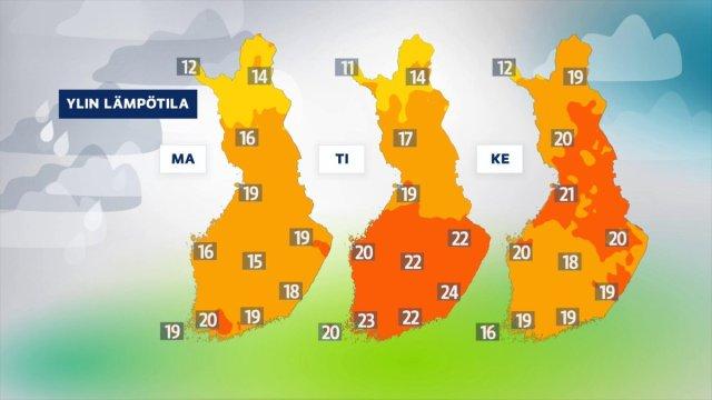 Soomes tuleb erakordselt soe nädala algus