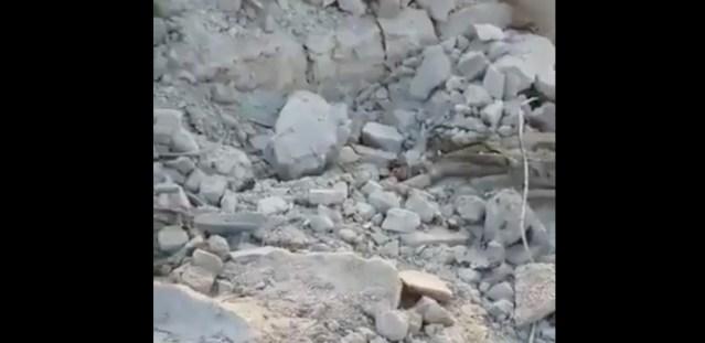 Video Islamiriigi juhi väidetava hukkumise kohast (NB! Nõrganärvilistele mittesoovitav!)