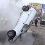 Kole lugu: kaks meest KEESID elusalt, kui nende Lada kukkus Venemaal teeauku