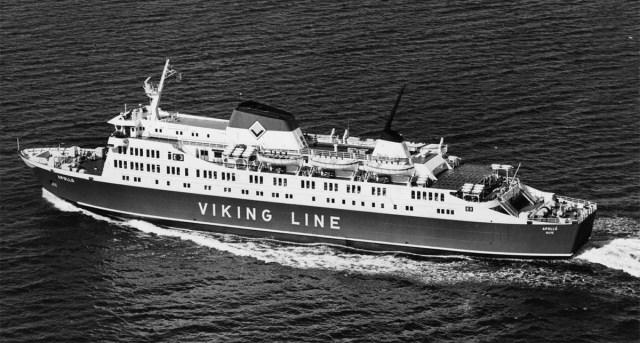 Viking Line'i legendaarne laev Apollo uputatakse