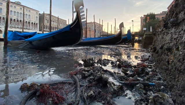 Uus häda Veneetsias – vesi kadus kõik ära