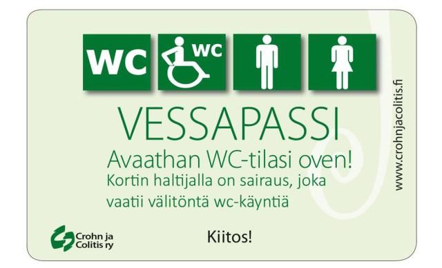 Kas teadsid? Enam kui 20 000 soomlasel on vetsupass, millega pääseb tualetti väljaspool järjekorda