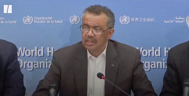 Maailma Terviseorganisatsioon hoiatab: viirusejuhtumid väljaspool Hiinat võivad olla jäämäe tipp