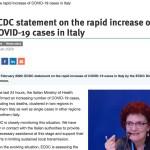 KUUM: Euroopa nakkuskeskus hoiatab koroonaviiruse leviku eest Euroopas