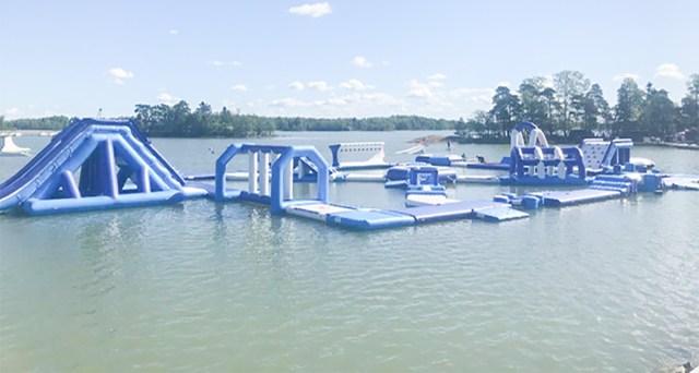 Espoos avati Soome suurim ujuv veepark
