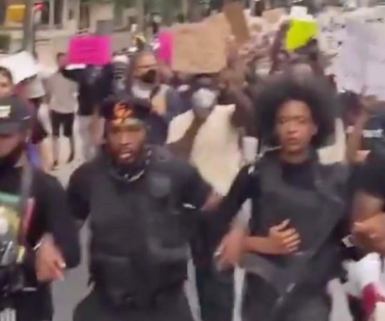 VIDEO: relvastatud meeleavaldus USA-s