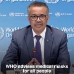 KUUM: Maailma Terviseorganisatsioon soovitab nüüd kõigil maski kanda