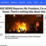 USA pealinnas valitseb kaos, mässajad on Valge Maja ümber piiranud, president Trump ütleb, et see on valeuudis