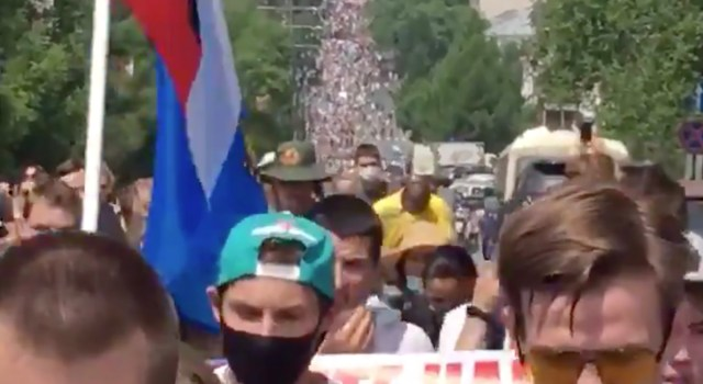 KUUM: Venemaal oli suur Putini-vastane meeleavaldus