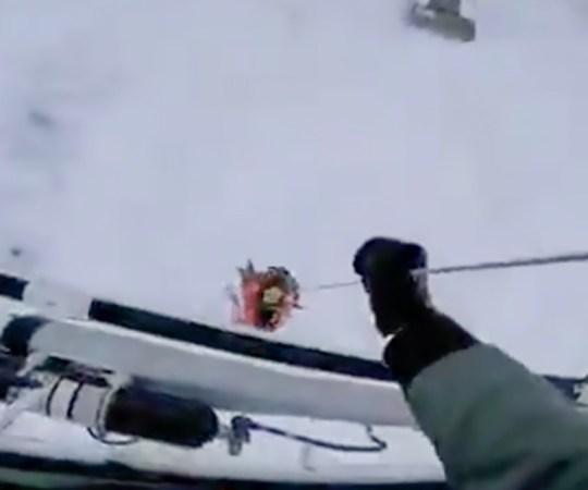 VIDEO: Läbi jää vajunud inimese päästmine Soomes