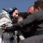 VIDEO: USA naisastronaut naasis koos Vene kosmonautidega tagasi Maale