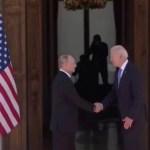 VIDEO: Biden andis Putinile usalduse märgiks kätt