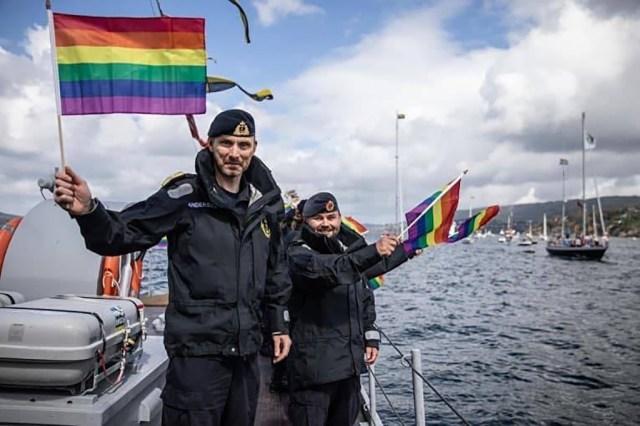 VIDEO: Norra merevägi korraldas laevade Pride-paraadi