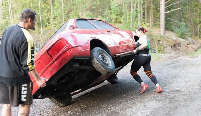 Kas teadsid? Soome tugevaim naine on eestlanna Annika Karhu