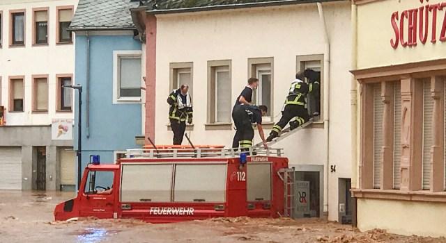 KUUM: Saksa üleujutustes 58 hukkunud ja 1300 kadunud – Merkel: See on katastroof