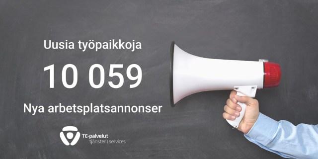 Soomes pakutakse nüüd kõvasti tööd – nädalaga 10 059 uut tööpakkumist