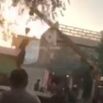 Šokeerivad kaadrid: Taliban riputas vaenlased kraana otsa ja sõidutas ringi (NB! Nõrganärvilistele mittesoovitav!)
