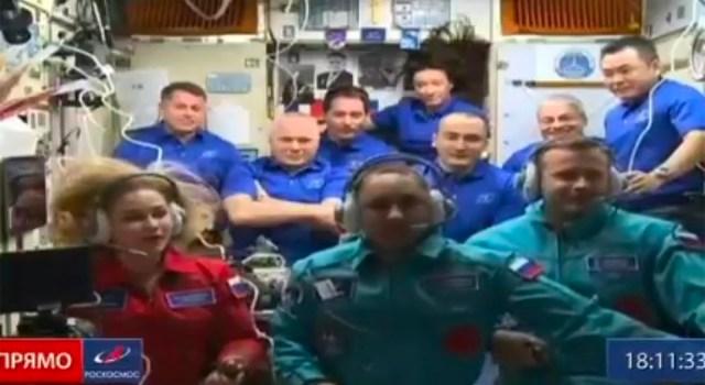 VIDEO: Esimene eesti soost kosmonaut jõudis rahvusvahelisse kosmosejaama