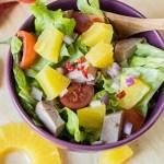 salade met ananas