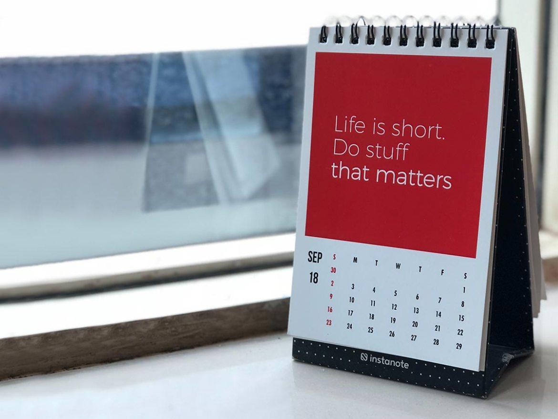 客製化企業桌曆