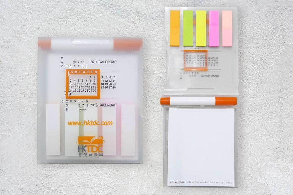校慶紀念品推薦三 : 便利貼製作/造型N次貼多功能便利貼本