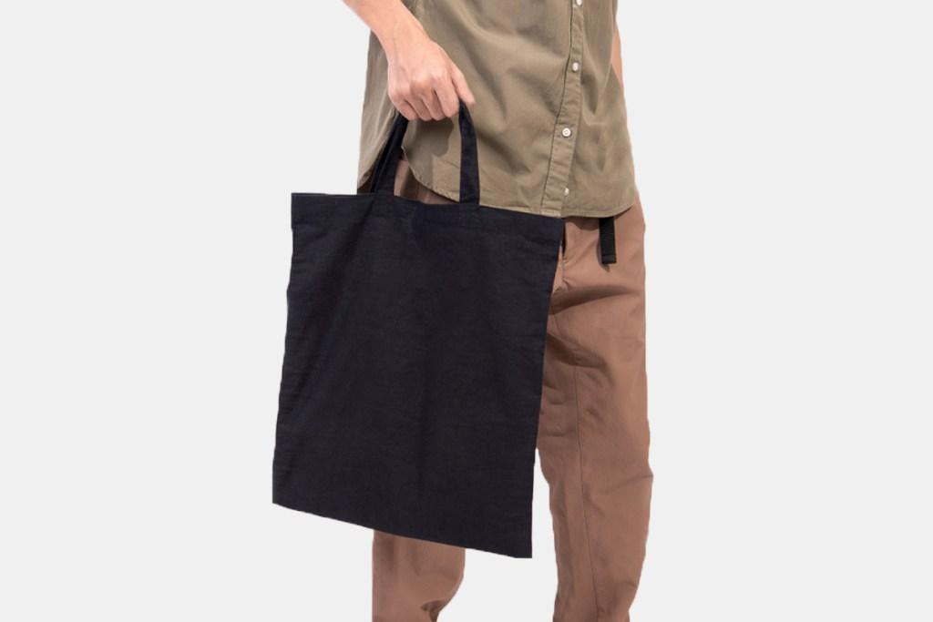 購物袋製作無底無側袋型