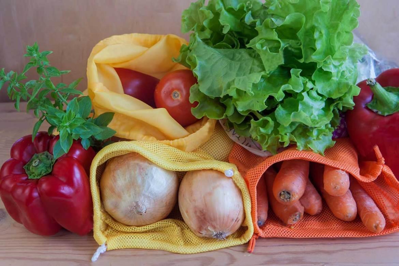 蔬果束口網袋