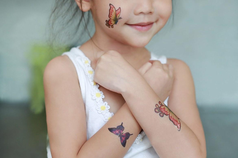 紋身貼紙印刷大人小孩都愛用