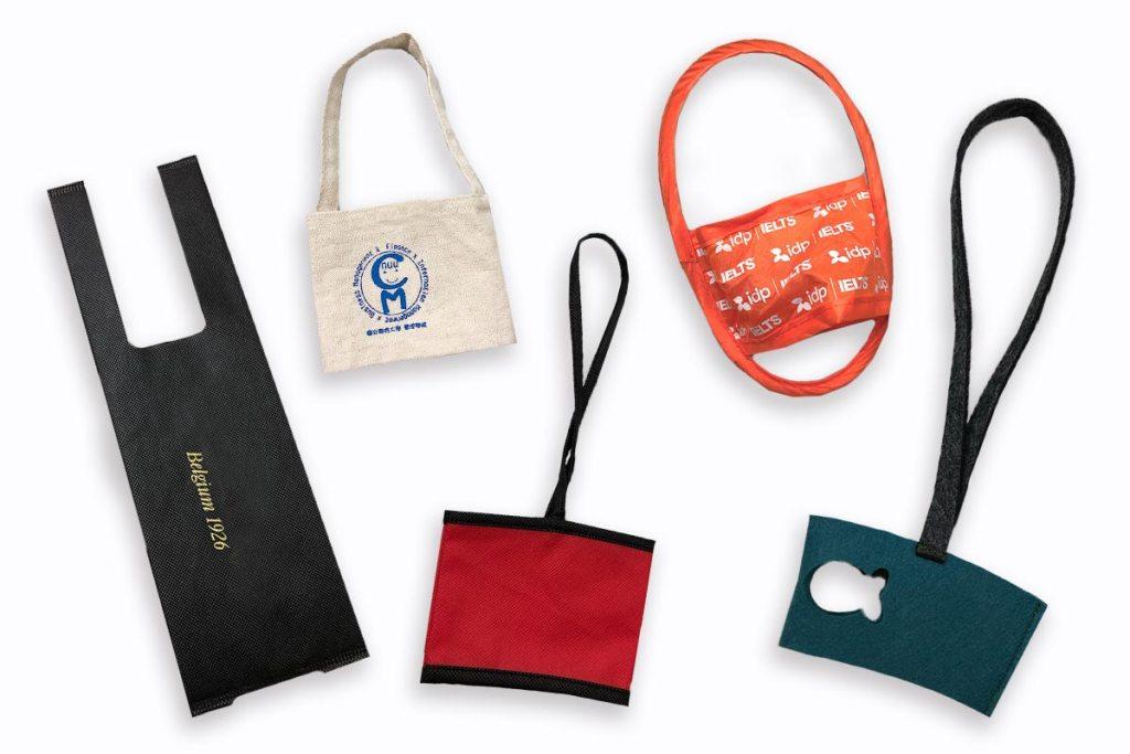 飲料提袋客製多種布料材質選擇