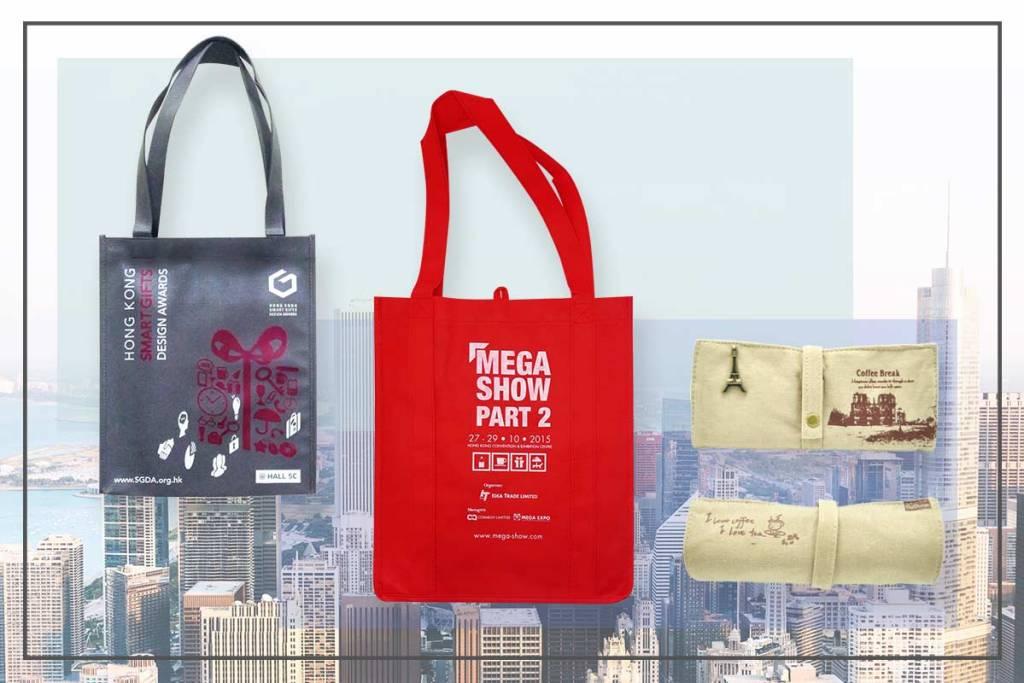 展場紀念品製作實用手提袋-誼源國際