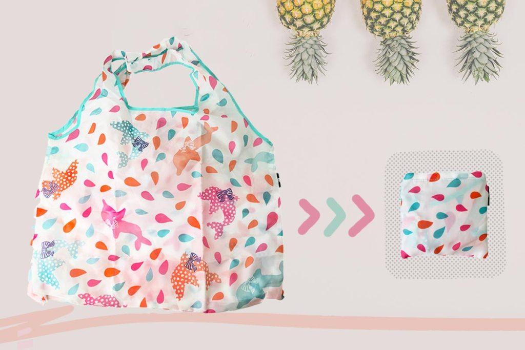 折疊環保袋尼龍布材質方便收納
