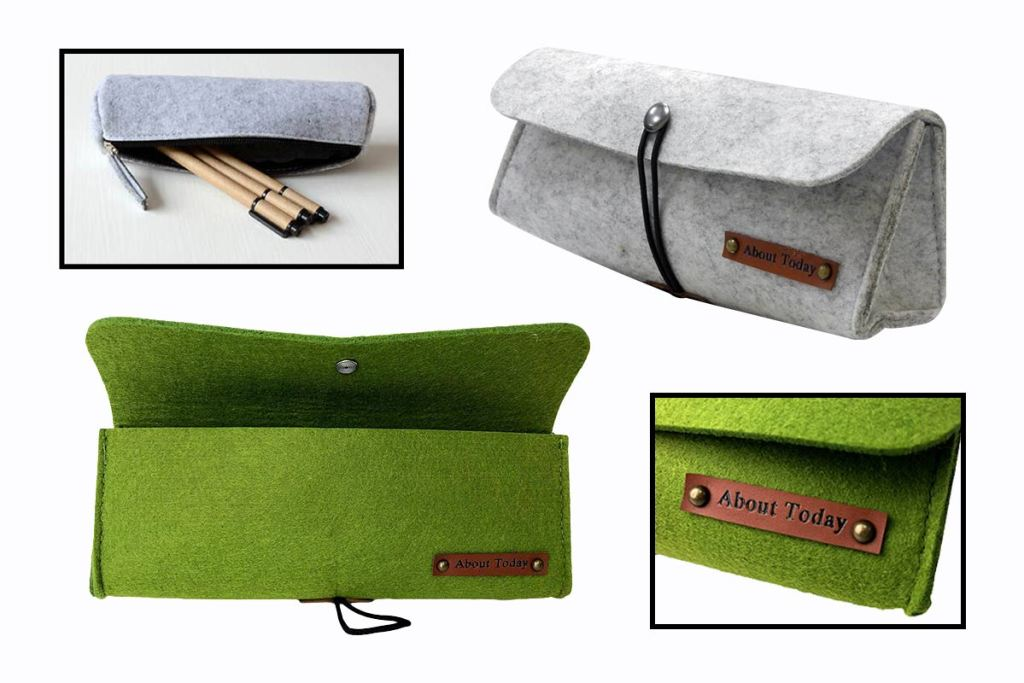 訂製羊毛氈筆袋-誼源國際