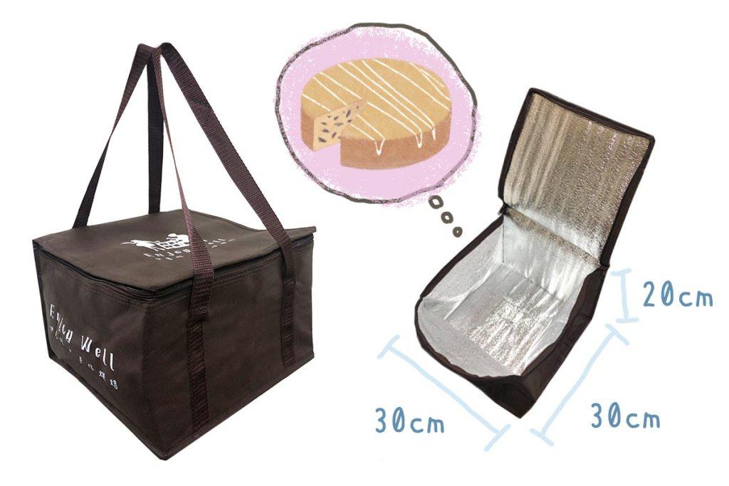 保冷袋效果-蛋糕外帶-誼源國際