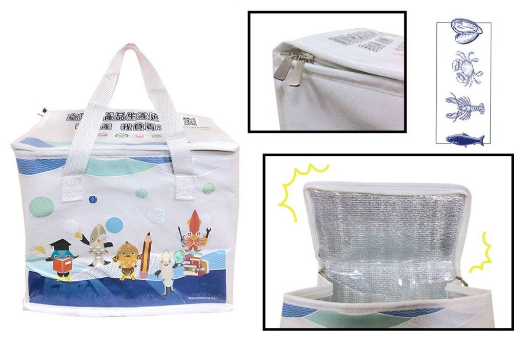 保冷袋效果-防水海鮮冷凍-誼源國際